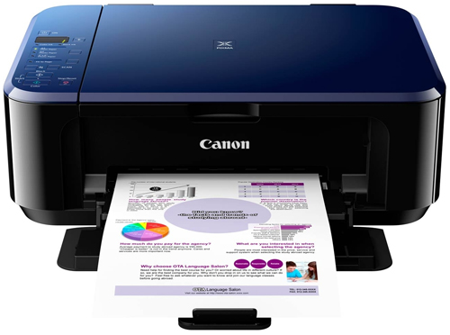 Canon Pixma E510 Ink Saver All-in-One Color Printer