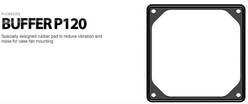 Deepcool Buffer P120 Rubber Base Fan Bracket Asianic