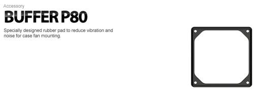 deepcool buffer p80 rubber base fan bracket