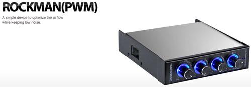 deepcool rockman cpu fan controller with pwm asianic distributors