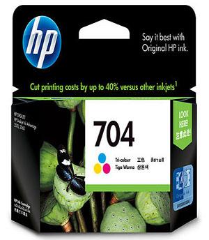 Hp 704 Tri Color Ink Advantage Cartridge Asianic